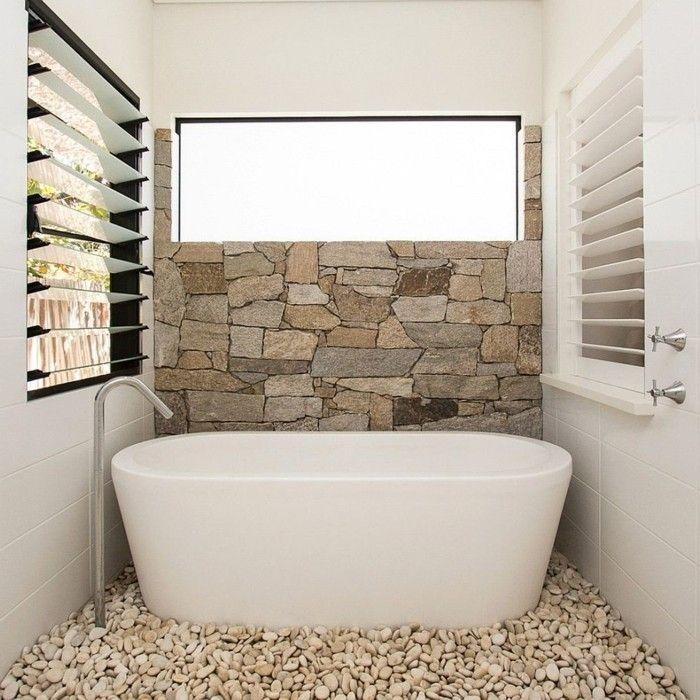 le carrelage galet pratique rev tement pour la salle de bain. Black Bedroom Furniture Sets. Home Design Ideas