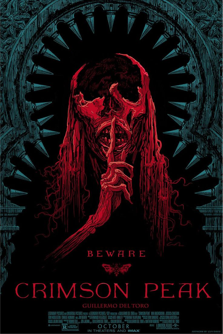 Crimson Peak Mondo poster 3 Crimson Peak Mondo Posters & VR Experience at Comic Con