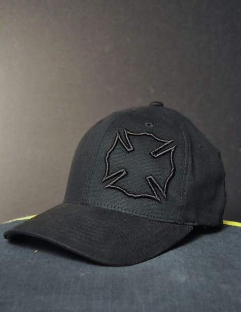 Black Maltese Flexfit Hat - Black Helmet Firefighter Shirts, Hats, Decals and Accessories