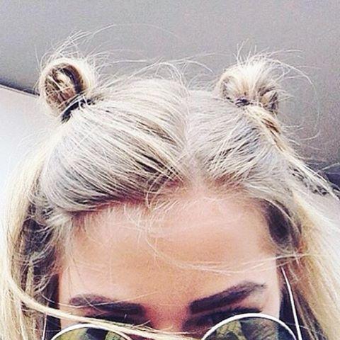 #DoubleBuns #Hairspiration #UpDo