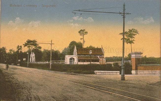 BIDADARI CEMETERY, SINGAPORE - 1905-1910
