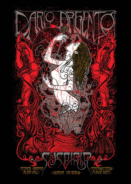 Malleus. A series of posters for Dario Argento's... - Supersonic Electronic Art