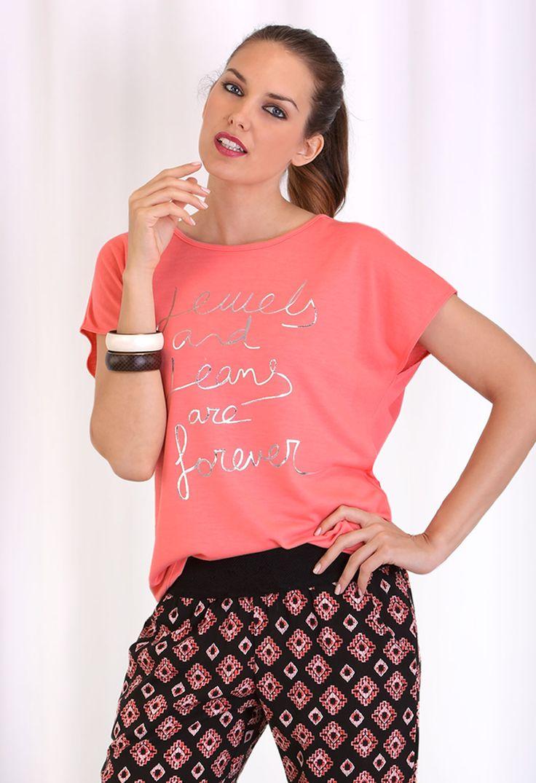 Camiseta mujer jewells #massana #streetstyle