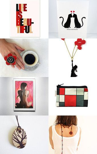 Life is beautiful! by Francesca Vicario on Etsy--Pinned with TreasuryPin.com