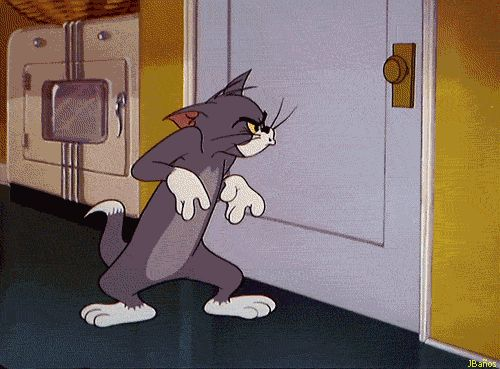 ¡Toc, toc! la puerta - Tom y Jerry