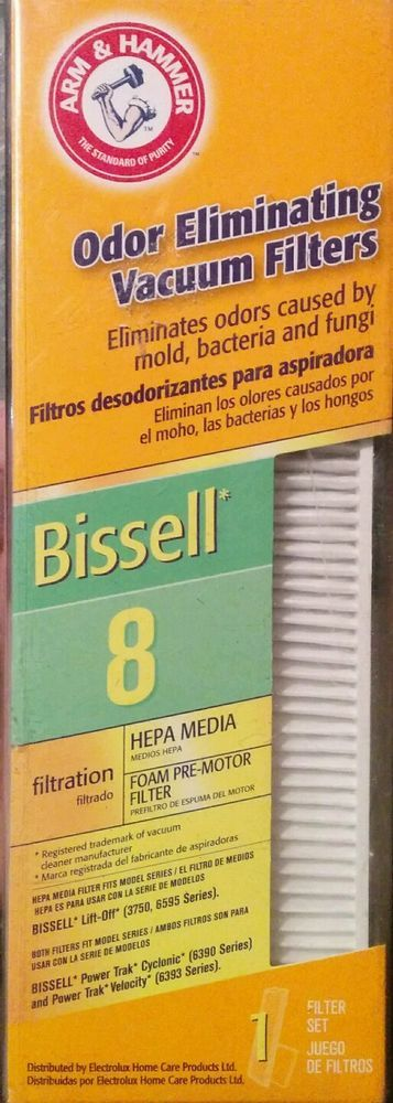 BISSELL VACUUM CLEANER FILTER, 8 and14, LIFT-OFF REVOLUTION VELOCITY MOMENTUM #ArmHammer