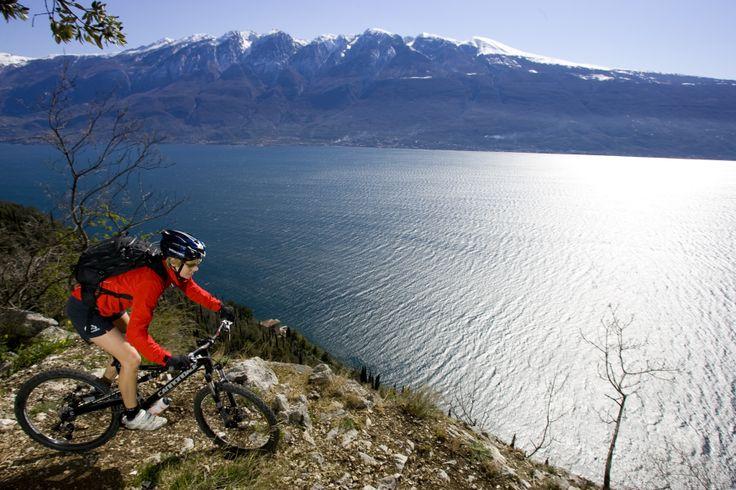#MOUNTAIN BIKE A #TIGNALE-#Gardasee @Lago Di Garda Lombardia