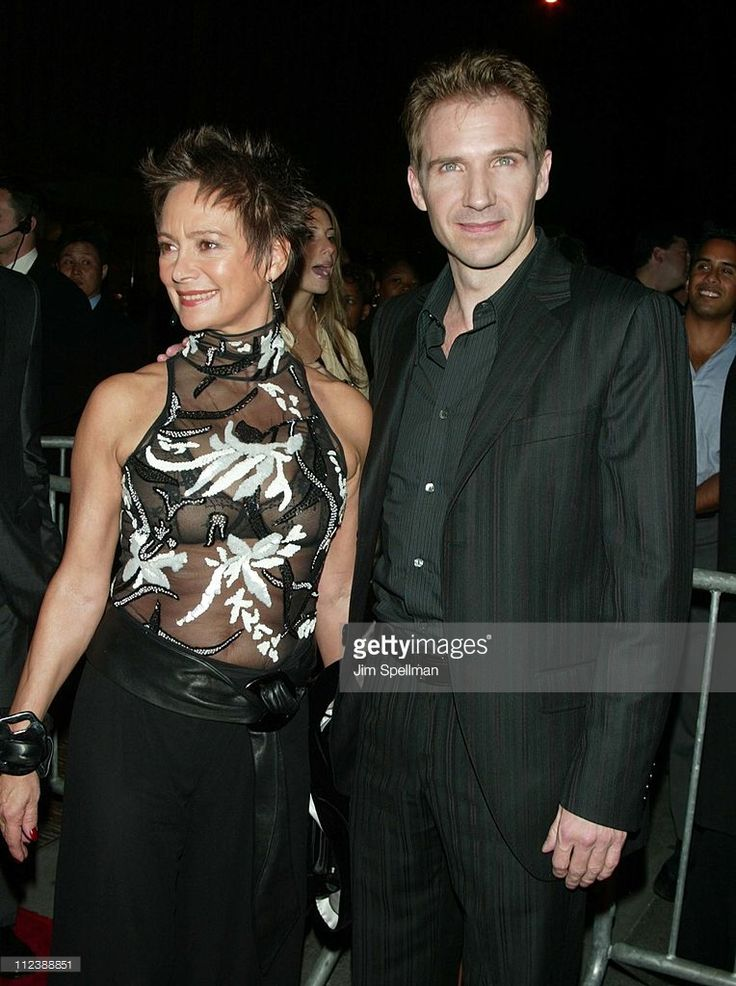 Francesca Annis & Ralph Fiennes during 'Red Dragon' New York City Premiere…