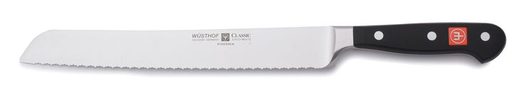 "Classic 9"" Double Serrated Bread Knife"