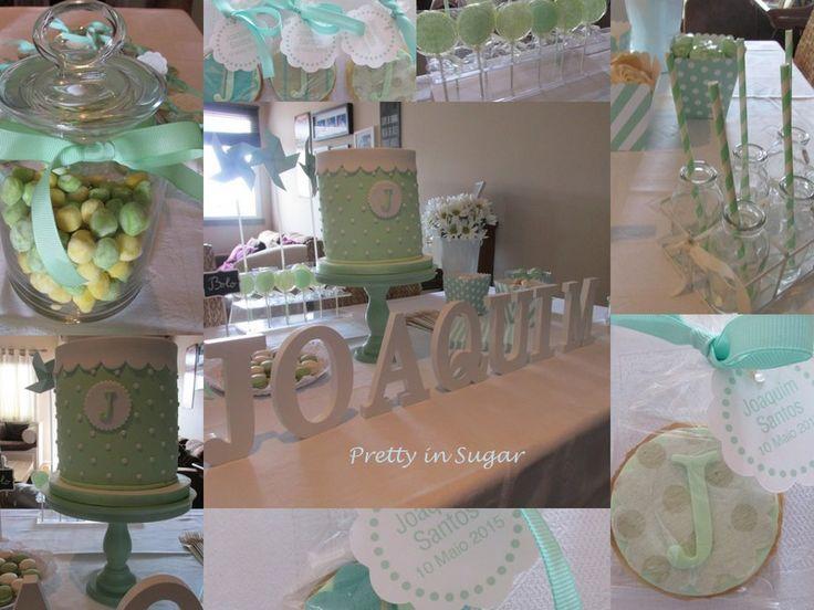 1ª Comunhão | First Communion. Cake stand from Coco&Baunilha.