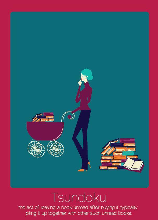 Tsundoku: comprar libros para luego no leerlos