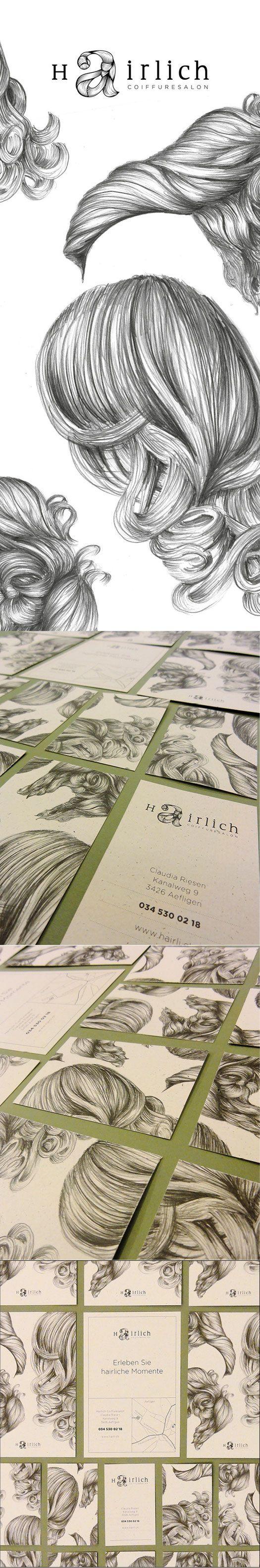 hairlich - lockedesign - Häberli Simon, Designer FH für Visuelle Kommunikation: Grafik, Illustration und Corporate Design aus Burgdorf, Schweiz