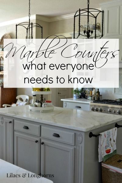 Marble Counters: What Everyone Needs to Know {Part 2}