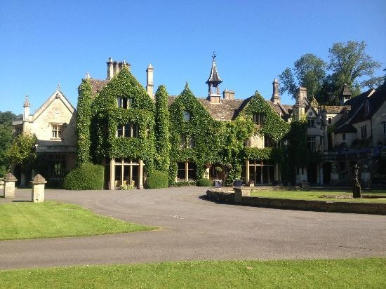 Lovely manor houses of england The Manor House Hotel and Golf Club front of manor