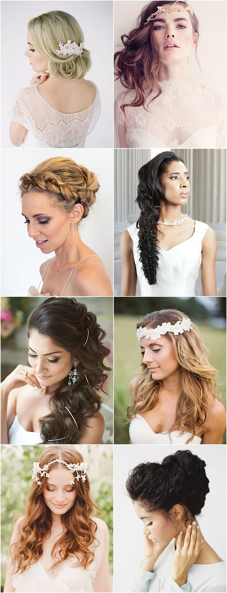 22 Romantic Wedding Hairstyles for Every Bride #wedding #updo