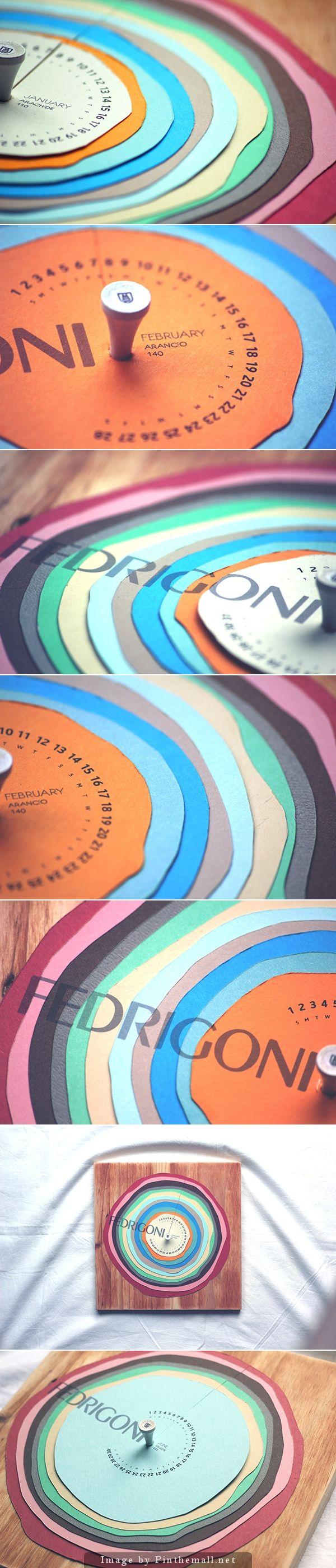 Fedrigoni 2015 Calendar by Christopher Hoare