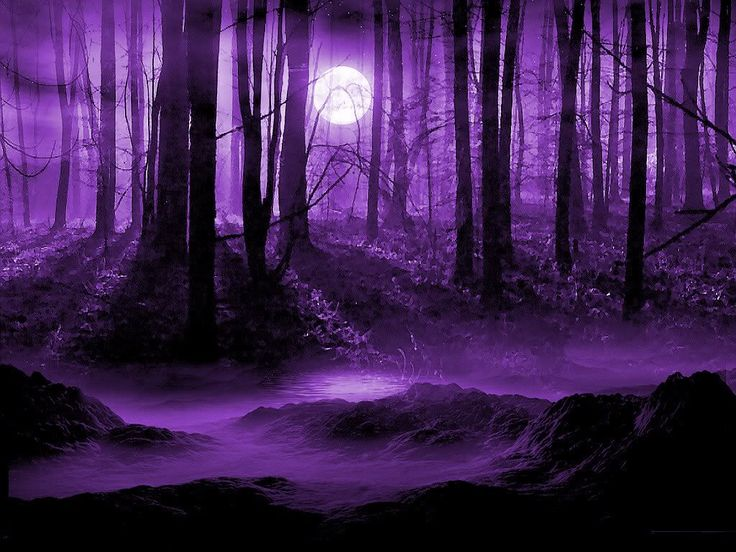 This looks like a scene from Harry Potter (just all purple-y)