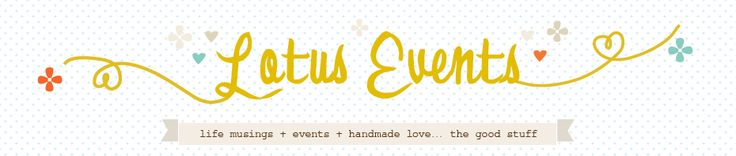 A feature // Thank you Lotus Events!!