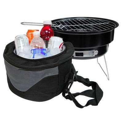 Chill & Grill Portable BBQ Grill and Cooler - WICKED CHEAP!