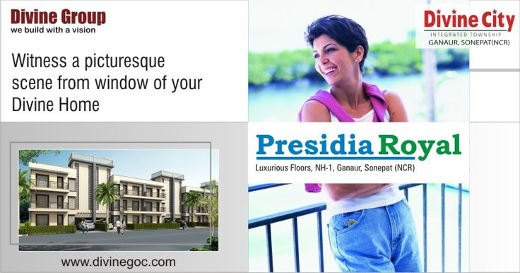 Engineers of #Divine #Group keep some important points like Cost, Location, Connectivity and many others in mind while constructing the homes to keep residents away of every kind of problem.  #presidiaroyal #bestpropertyinsonipat