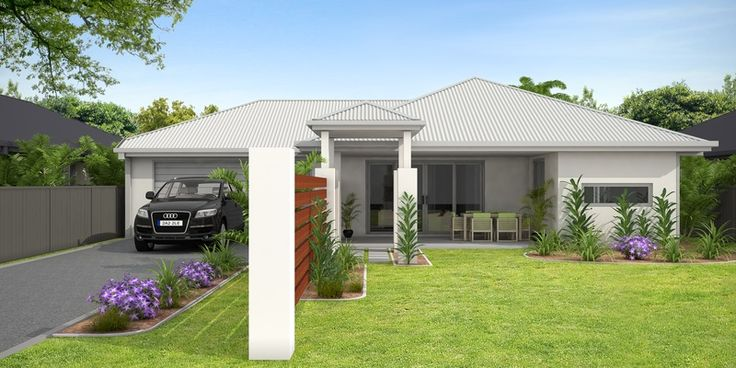 3D Architectural Visualisation for a building Company - Hedley Homes - Cairns QLD Shale grey