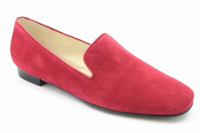 Warmer Red Suede Loafer $117.29