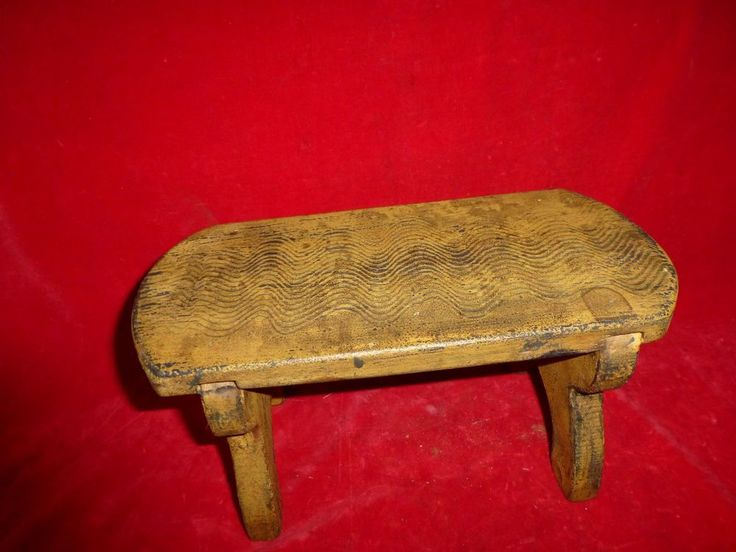 FINE Antique GRAIN PAINTED Pine Foot Stool c.1850 Primitive Pennsylvania & 1112 best VINTAGE AND ANTIQUE WOODEN BENCHES AND STOOLS images on ... islam-shia.org