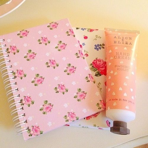 I want these notebooks they are so girly
