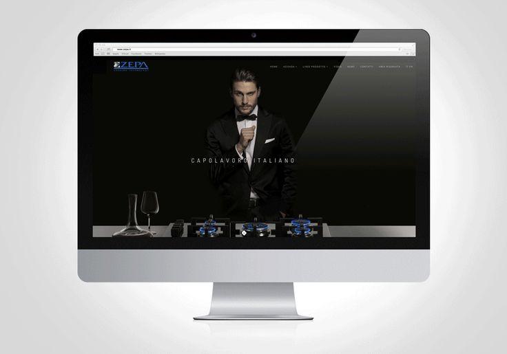 Zepa // new website #kreactivfarm #kfadv #concept #web #shooting
