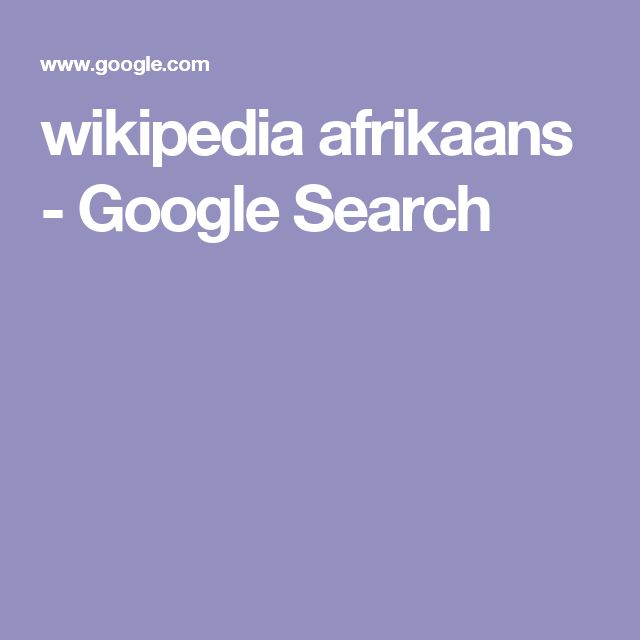 The 15 best african languages folder 3 afrikaans images on pinterest wikipedia afrikaans google search fandeluxe Gallery