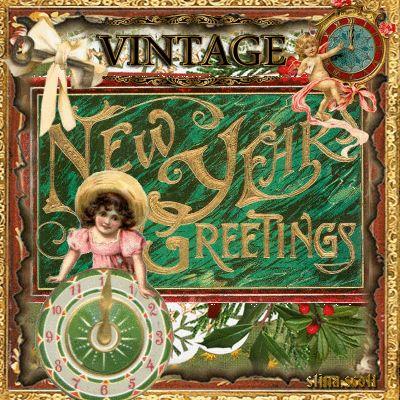 Vintage New Year's Greetings