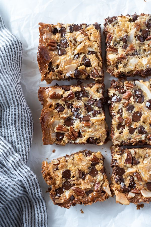 Seven Layer Magic Cookie Bars In 2020 Flourless Chocolate Cookies Dessert Recipes Easy Yummy Food Dessert