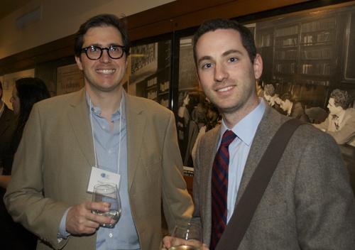 Austin Ratner and Josh Lambert