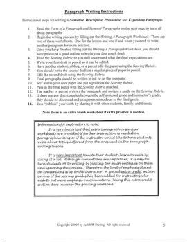 best expository writing images informational  writing a descriptive paragraph this expository writing lesson is student directed because it guides the students through the process of writing a