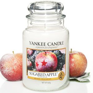 Sugared Apple was originally released as a limited edition summer fragrance. It's part of the holiday line now, but it's still my July kitchen scent.