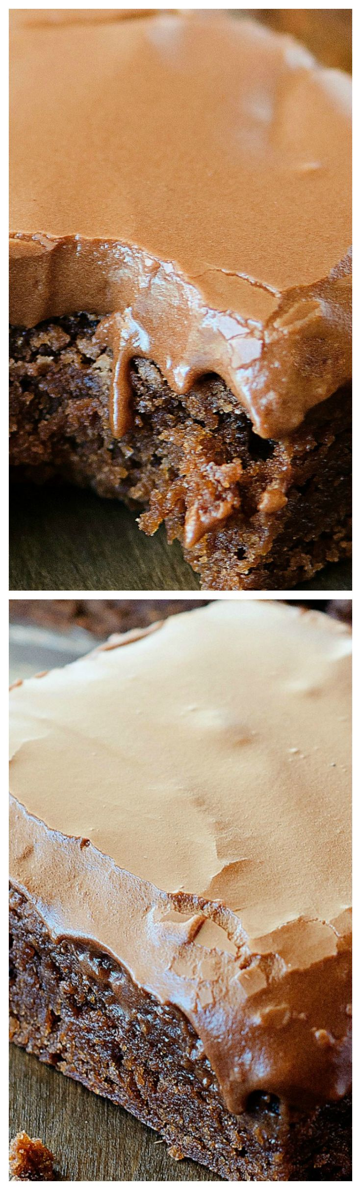 Lunch Lady Brownies ~ The most incredible and fudgy brownies... This is the only brownie recipe you'll ever need!