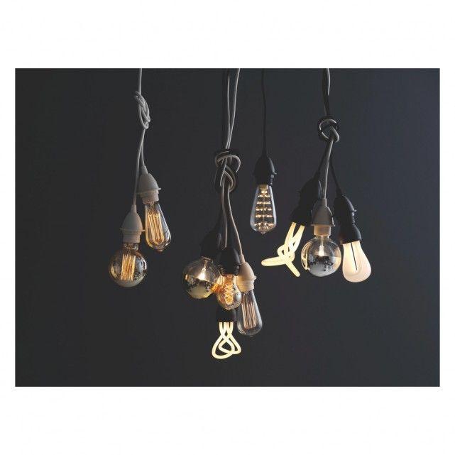 CALEX E27 40W decorative clear filament rustic light bulb | Buy now at Habitat UK