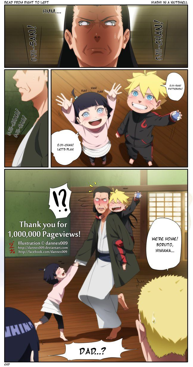 """My 2nd tribute for the The LAST : Naruto the Movie. After seeing lot's of Spoilers around the net, i just can't resist to take a day break just to finish this lol. Issho ni asobo Ojiichan means """"Le..."""
