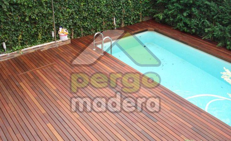 Tarima de madera de exterior desde 75 euros/m2 Su tarima en madera con la mejor calidad, garantía y precio, en tiempo record y sin necesidad de obra alguna. Diseñamos, mecanizamos e instalamos su tarima de madera