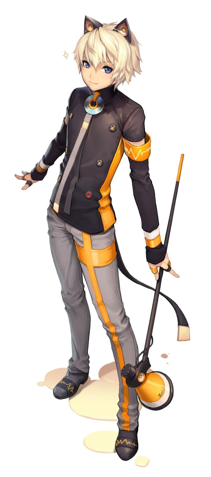 """시유의 """"공식 남체화 캐릭터""""를 드디어 공개합니다! (Illust by KKUEM) 자세한 내용 보기  http://www.facebook.com/vocaloidtalks"""