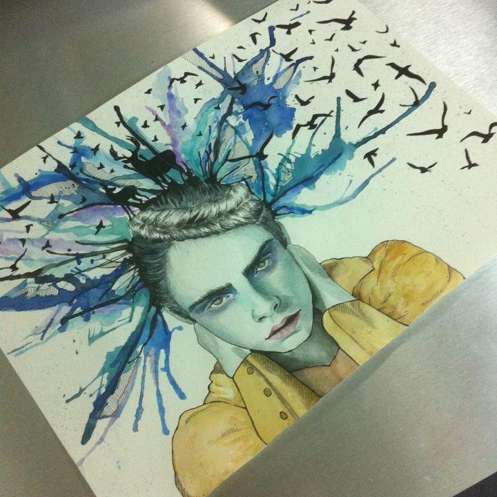 watercolor by YAARA SACHS