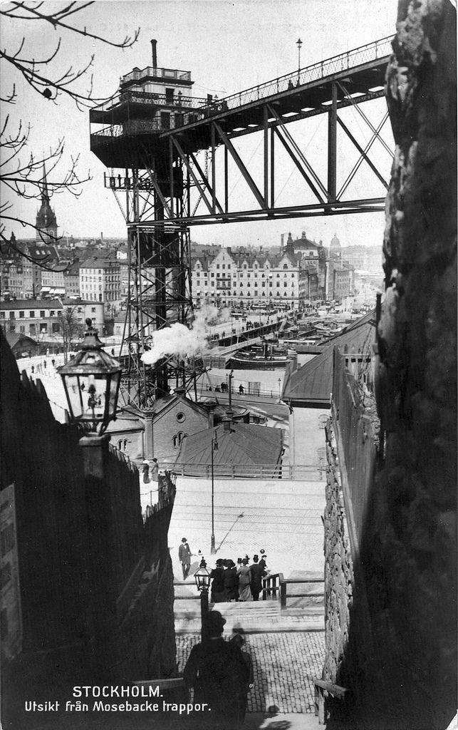 Stockholm. Utsikt fån Mosebacke trappor | 40. | lennartborjeson | Flickr