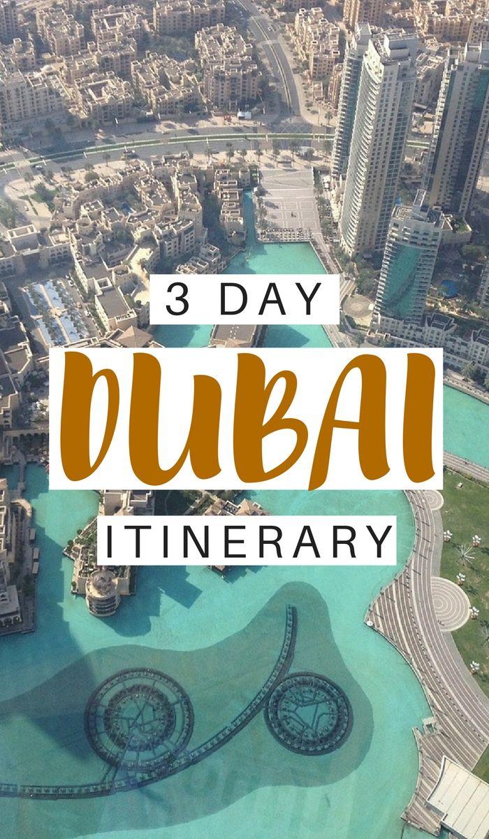 Dubai. 3 días. Itinerario.