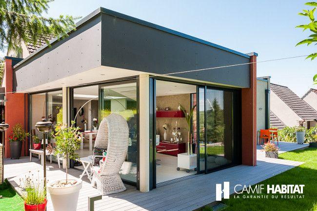 60 best nos extensions de maisons images on pinterest. Black Bedroom Furniture Sets. Home Design Ideas