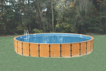 23 best images about freedom series above ground pools on for Above ground pool siding ideas