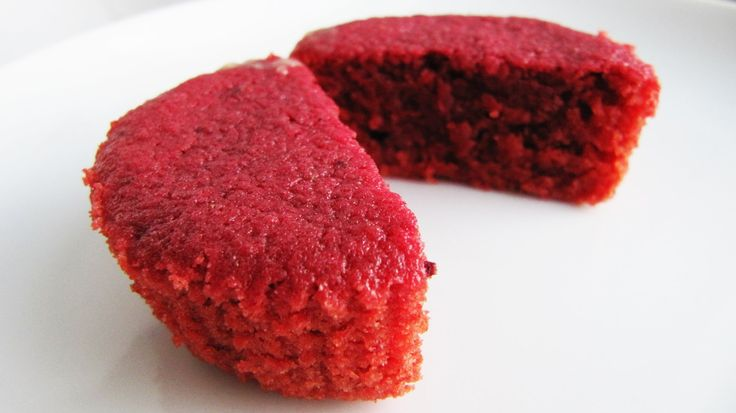 No artificial red food colouring is used in this all-natural Red Velvet Cupcake recipe. The rich red colour comes from fresh beetroot (which was originally t...