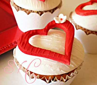 All sizes | Valentines Hearts- Cup cakes | Flickr - Photo Sharing!