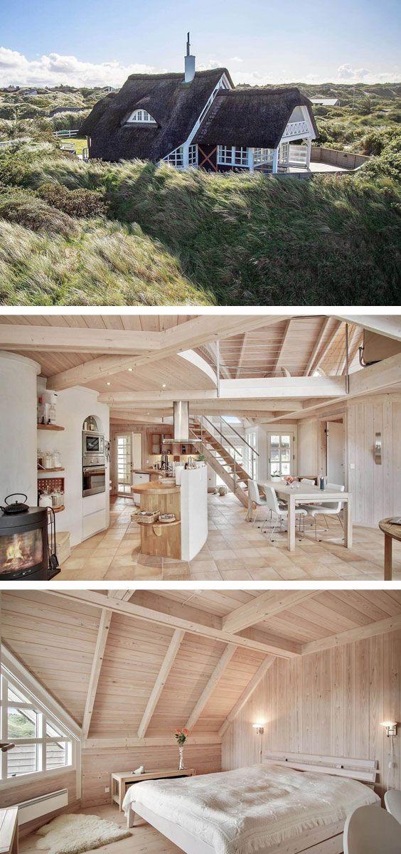 Wundervolles Ferienhaus mit Meerblick in Saltum, n…