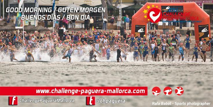 Salida Triatlón Olímpico Paguera 2013 (Campeonato de Baleares)