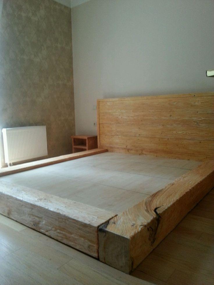 Купить или заказать Кровать Лофт из бусьев. Цвет клен в интернет-магазине на…